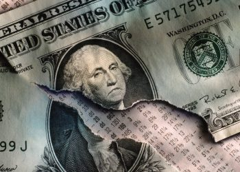 Frowning George on a weak dollar