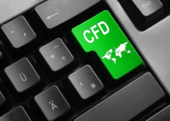 grey keyboard with green enter key cfd international trading